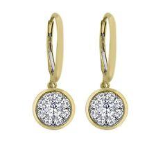 BRAND NEW 0.62 CT.T.W. Unity Diamond Earrings in 14K Yellow Gold (I, I1)