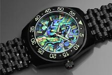 Aragon A146BLK Charger Automatic Abalone 50mm