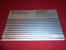 1981 BUICK LESABRE, ELECTRA & ESTATE WAGONS ORIGINAL 81 OWNER MANUAL, EXCELLENT