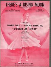 There's A Rising Moon 1954 Doris Day Frank Sinatra Young At Heart Sheet Music