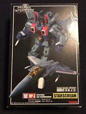 Transformers Masterpiece Takara MP-3 Starscream  Coronation Set Evil Dark Matrix