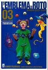 MANGA - Dragon Quest Saga - L'Emblema di Roto Perfect N° 3 - Star Comics - NUOVO