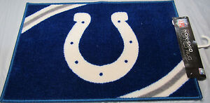 """NFL Indianapolis Colts Rug/Mat 20"""" by 30"""" Center Logo by Northwest"""