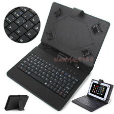 """For Samsung Galaxy Tab A6 10.1"""" 2016 SM-T580 T585 Keyboard Leather Cover Case"""