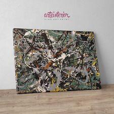 Jackson Pollock, Untitled (Green Silver) - Stampa Giclée Fine Art su tela Canvas