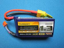 TURNIGY NANO-TECH 1300MAH 3S 11.1V 60C 90C A-SPEC LIPO BATTERY FPV RACE DRONE RC
