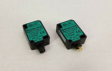 (2) Pepperl + Fuchs UB100-F77-E2-V31 Ultrasonic Direct Detection Sensor