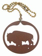 Buffalo Bison Fan Pull - Ornament