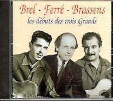 2 // BREL-BRASSENS-FERRE LES DEBUTS DES TROIS GRANDS NEUF