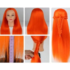 Cosmetology Mannequin Head Hair Hairdresser Training Tool Doll Model Manikin