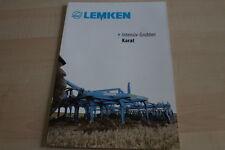 128033) Lemken Intensiv-Grubber Karat Prospekt 12/2009