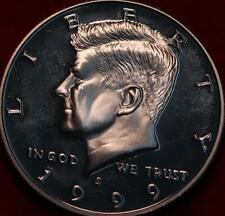 Uncirculated Proof 1999-S San Francisco Mint Clad Kennedy Half