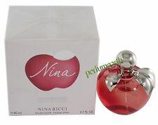 Nina Les Belles De Nina By Nina Ricci 2.7 oz/80 ml Edt Spray for Women New Box