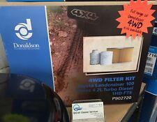 Donaldson 4WD AIR OIL FUEL FILTER KIT LANDCRUISER 100 SERIES 4.2L TD P902720