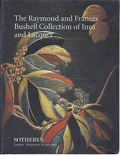 SOTHEBY'S JAPANESE INRO LACQUER Bushell Collection Auction Catalog 1997 HC