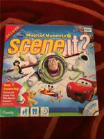 Scene It Disney Magical Moments Deluxe Board DVD Game Complete Excellent g1p