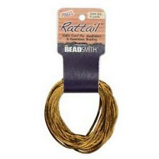 6 Yards 1MM RATTAIL CAMEL (Free Shipping)
