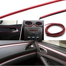 Bordo bordino decoro profilo inserto cruscotto interni auto car Rosso Cromato 5M