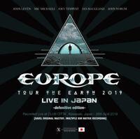 EUROPE 2CD TOUR THE EARTH 2019 LIVE IN JPN JOHN NORUM JOEY TEMPEST HARD ROCK