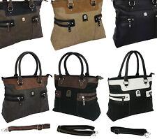Neu Damentasche Bag Handtasche Shopper Schultertasche Tragetasche 1896*****