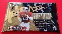 1998 Fleer Skybox Premium Football HOBBY Pack Peyton Manning RC? Dan Marino AU?