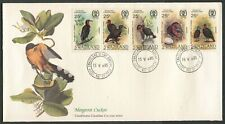 SWAZILAND - 1985 'MANGROVE CUCKOO' John Audubon First Day Cover [C3283]