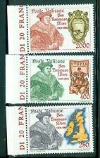 1985 Vatican City Sc# 755-7: St. Thomas More MNH