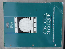 1998 Ford Contour Mystique Electrical Wiring Diagrams Service Manual OEM Factory