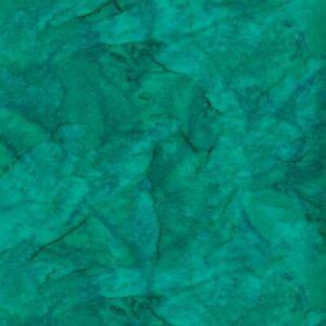 Hoffman 1895 Batik Watercolour Fabric 100% Cotton Stone green # 146
