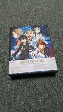 Sword Art Online- Limited Edition- Box Set 1- Aniplex- Region 1- OOP