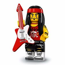 NEW Lego The NINJAGO Movie Series Minifigure W/ Checklist: GONG & GUITAR ROCKER