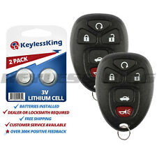 Fits 2007-2009 Saturn Aura Keyless Entry Remote Car Key Fob 22733524 2x