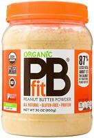 PBfit All-Natural Peanut Butter Organic Pb Fit Powder, 30 Ounce
