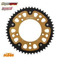Supersprox Stealth Rear Sprocket for KTM SX - 50T Gold