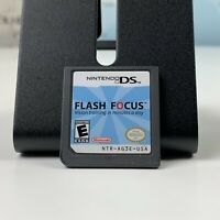 SHIPS SAME DAY Flash Focus Nintendo DS Game Cartridge Only Tested