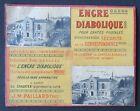 Ancien Carton Publicitaire Jm Paillard Encre Diabolique Pour Carte Postale Ink