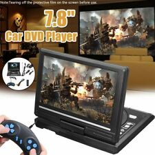 Portable Dvd Player Cd Card Hd 16:9 Lcd Large Swivel Screen Rechargeable N7J4