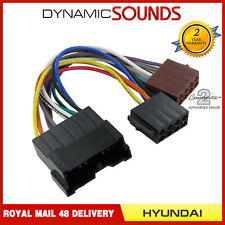 CT20HY02 Car Stereo 16 Pin Wiring Harness Adaptor ISO Loom Lead for Hyundai, Kia