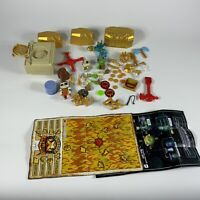 Treasure X Tomb kings gold parts and pieces toy playset AS IS for parts