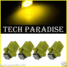 100x Ampoule B8.3D BX8.3D BAX10S ( T5 sur culot ) LED SMD Jaune Yellow Neo Wedge