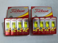 2 Dozen (24) - Yellow Titleist Dt Solo/TruSoft Golf Balls Brand New in Box