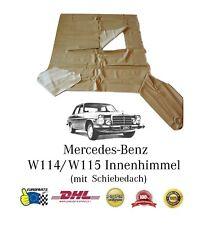 Mercedes Benz W114 Innenhimmel mit Schiebedach, perforiert, DHL Versand, Creme