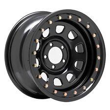 Pro Comp Wheels 252-5165F Rock Crawler Series 252 Black D-Window Wheel