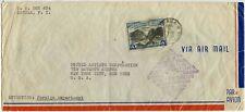 AIRMAIL FIRST FLIGHT CALIFORNIA CLIPPER 4 pesos PHILIPPINES BOEING 1939