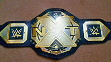 WWE NXT Wrestling Championship Belt Replica Metal Brass Plated Title Belt NEW