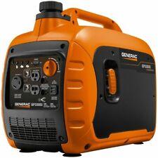 Generac 7154 3300W Recoil Start Gasoline Powered Inverter Generator