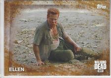 2016 The Walking Dead Season 5 Rust #27 Ellen sn 43/99 Abraham parallel