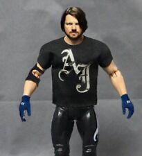 """NOX-T-AJ: Custom Shirt for 7"""" Mattel WWE AJ Styles Action Figure (No Tracking)"""