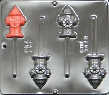 Fire Hydrant Lollipop Chocolate Candy Mold 3442 Paw Patrol Theme NEW