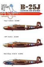 EagleCals Decals 1/48 NORTH AMERICAN B-25J MITCHELL Medium Bomber